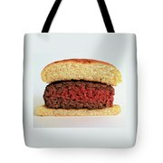 A Rare Hamburger Tote Bag