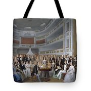 A Reading Of Ventura De La Vega Tote Bag
