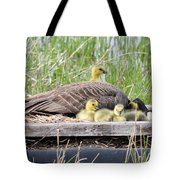 A Real Mother Goose Tote Bag
