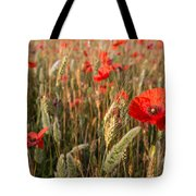 A Red Dressed Beauty  Tote Bag