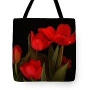 A Red Tulip Day Tote Bag
