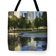 A Reflection Of Chicago Tote Bag