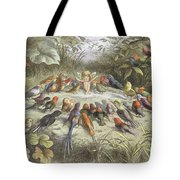 A Rehearsal In Fairy Land, Illustration Tote Bag