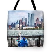 A Relaxing Day For Fishing Tote Bag
