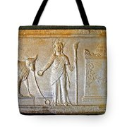 A Relief In Bergama Museum-turkey Tote Bag