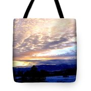 A Remarkable Winter Evening Tote Bag
