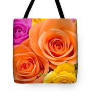 A Riot Of Roses Tote Bag