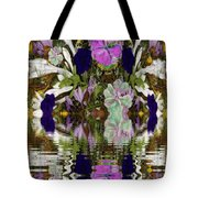 A River Of Flowers  Tote Bag