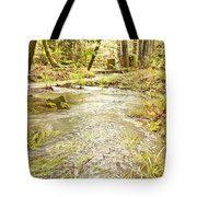 A River Of Green Tote Bag