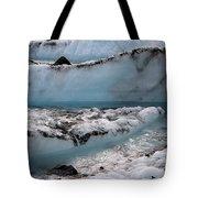 A River Runs Through Tote Bag