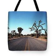 A Road Leads Through Joshua National Tote Bag