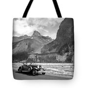 A Roadster In The Rockies Tote Bag