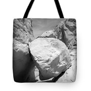 A Rock In A Hard Place. Tote Bag
