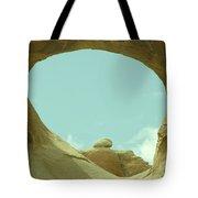Rock Inside The Window Tote Bag