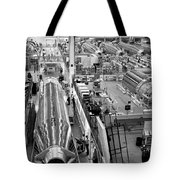 A Rocket Manufacturing Facility. Tote Bag