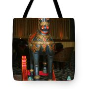 A Rocking Horse Of Many Colors Tote Bag