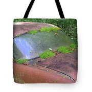 A Rolling Car Gathers No Moss Tote Bag