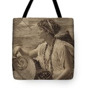 A Roman Boat Race Tote Bag by English School