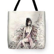 A Romantic Moment Tote Bag
