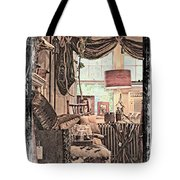 A Room With An Invitation Tote Bag