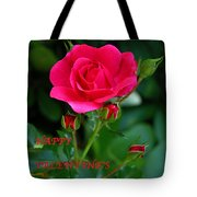 A Rose For Valentine's Day Tote Bag