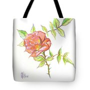 A Rose In Brigadoon Tote Bag