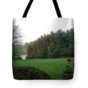 A Rose With A View Tote Bag