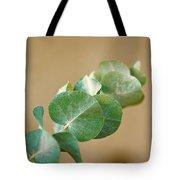 A Row Of Leaves Tote Bag