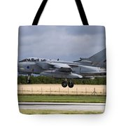 A Royal Air Force Tornado Gr4a Landing Tote Bag