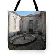 A Royal Courtyard Tote Bag