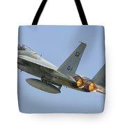 A Royal Saudi Air Force F-15c Tote Bag