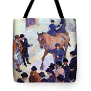 A Sale At Tattersalls, 1911 Tote Bag by Robert Polhill Bevan