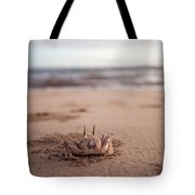 A Sand Crab Looks Out Over The Andaman Tote Bag
