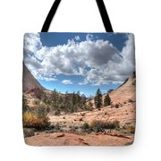 A Sandstone Valley Tote Bag