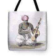A Sarinda, Or Hindostan Type Violin Tote Bag