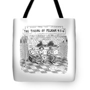 A Scene From The Upcoming The Taking Of Pelham Tote Bag