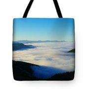 A Sea Of Fog  Tote Bag