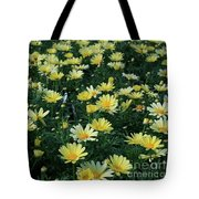 A Sea Of Yellow Daisys Tote Bag