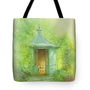 A Seat In The Summerhouse Tote Bag