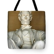 A Seated Abe Lincoln Tote Bag