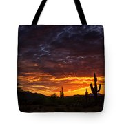 A Sentinel Sunset  Tote Bag