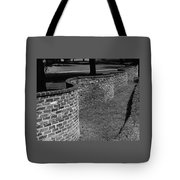 A Serpentine Brick Wall Tote Bag