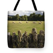 A Sheep's Field Tote Bag