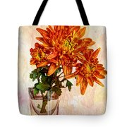 A Shot Of Mums Tote Bag