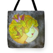 A Shy Lady Tote Bag