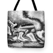A Silvery Horny Day Tote Bag