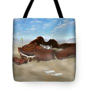 A Slow Death In Piano Valley Tote Bag