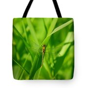 A Small Dragonfly Tote Bag