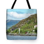 A Small House With A Navigational Tote Bag