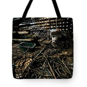 A Snake Pit Of Wires Tote Bag